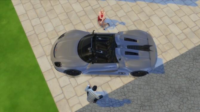 Porsche 918 Spyder Concept at LorySims image 3041 670x377 Sims 4 Updates