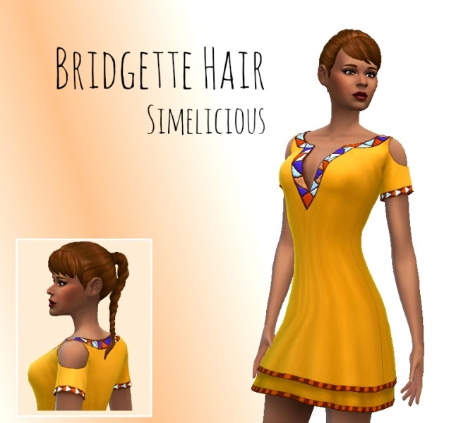 Bridgette Hair at Simelicious image 3111 670x599 Sims 4 Updates