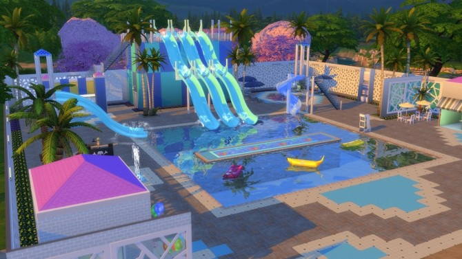 Park sims 4 updates best ts4 cc downloads for Pool design sims 4