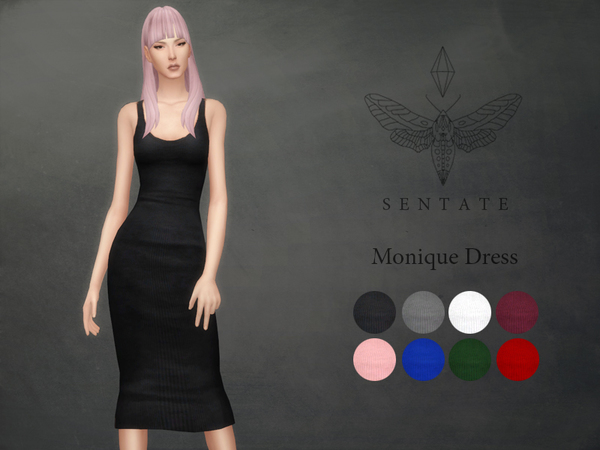 Monique Dress by Sentate at TSR image 3126 Sims 4 Updates