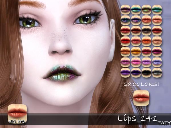 Sims 4 Lips 141 by tatygagg at TSR