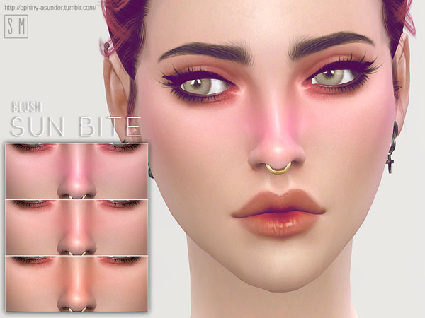 Sun Bite Blush by Screaming Mustard at TSR image 324 Sims 4 Updates