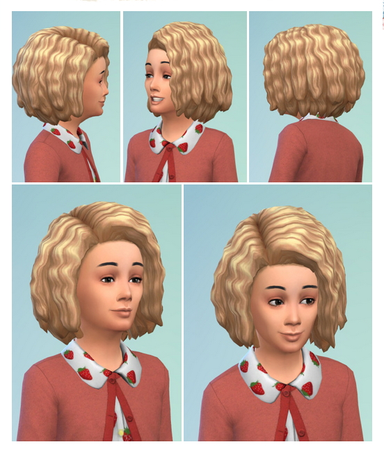 Sims 4 Mega curls for Kids at Birksches Sims Blog