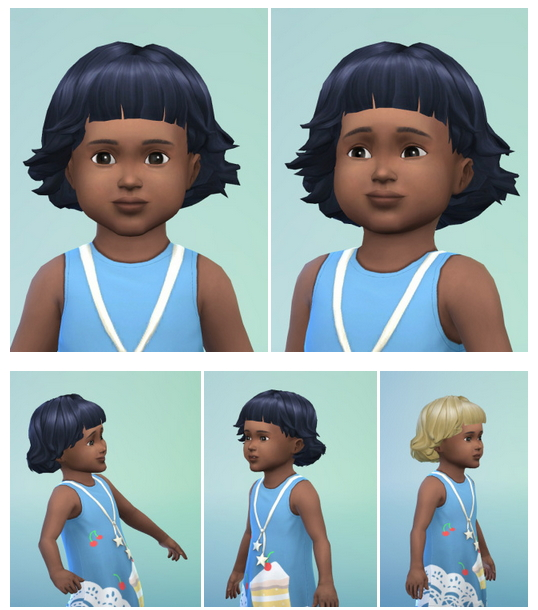 haircuts for childrens toddler bob at birksches sims 187 sims 4 updates 3291