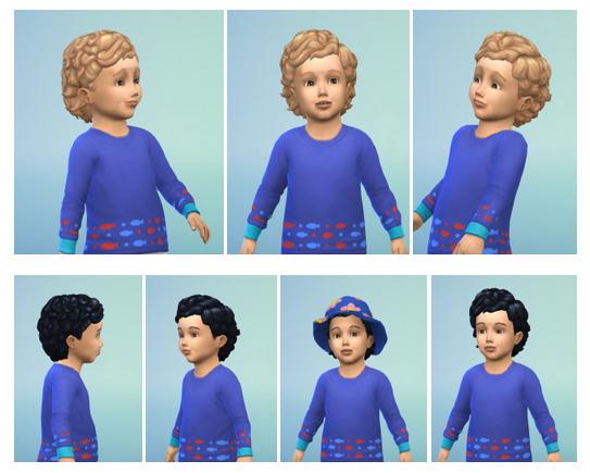 Sims 4 Big Toddler Curls at Birksches Sims Blog