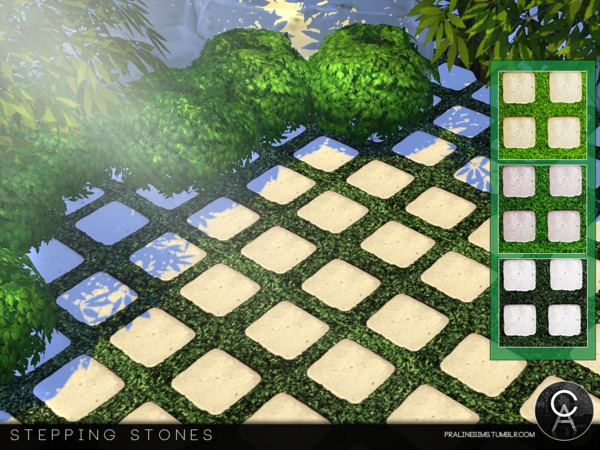 Stepping Stones by Pralinesims at TSR image 3310 Sims 4 Updates