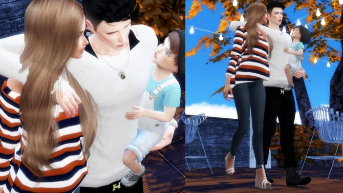 Sims 4 Family Pose Set 2 at ConceptDesign97
