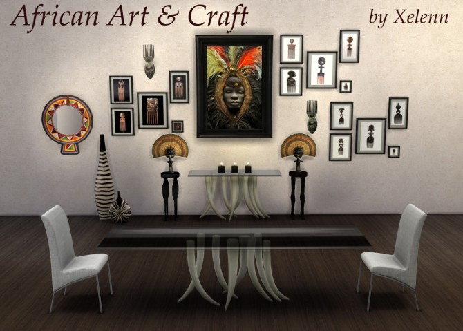 African Art & Craft at Xelenn image 3331 670x479 Sims 4 Updates