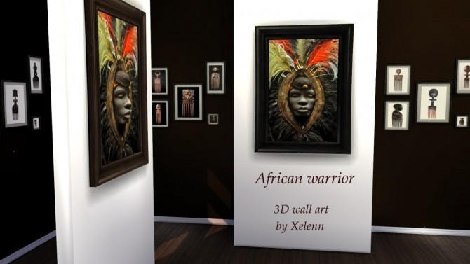 Sims 4 African Art & Craft at Xelenn