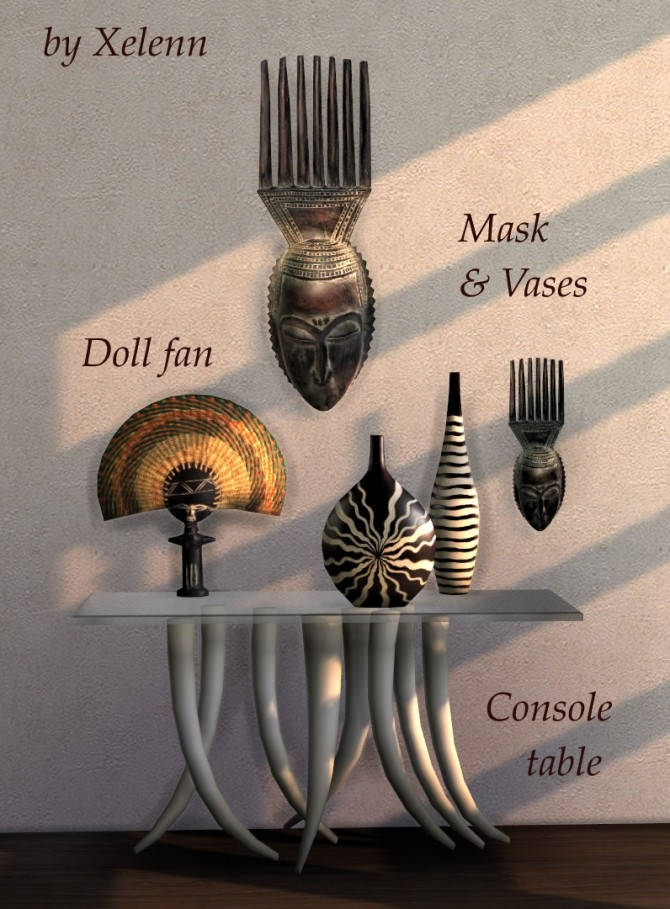 African Art & Craft at Xelenn image 339 670x909 Sims 4 Updates