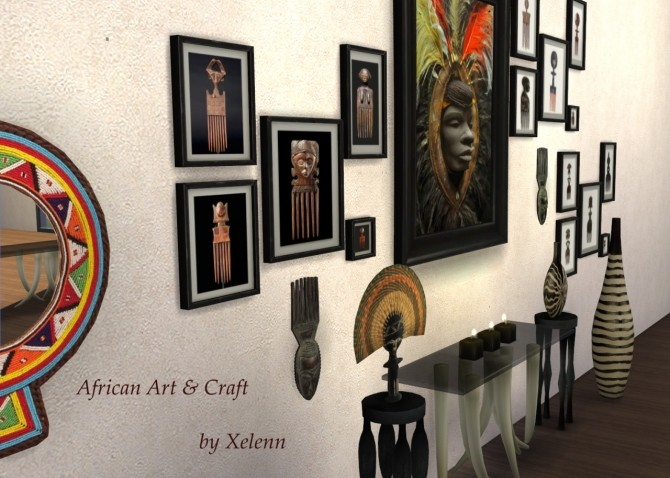 African Art & Craft at Xelenn image 3411 670x478 Sims 4 Updates
