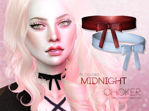 Midnight Choker by Pralinesims at TSR image 358 Sims 4 Updates