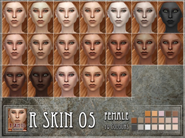 Sims 4 R skin 5 female by RemusSirion at TSR