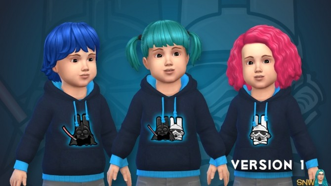 Freezer Bunny Star Wars Hoodies for Toddlers at Sims Network – SNW image 3741 670x377 Sims 4 Updates