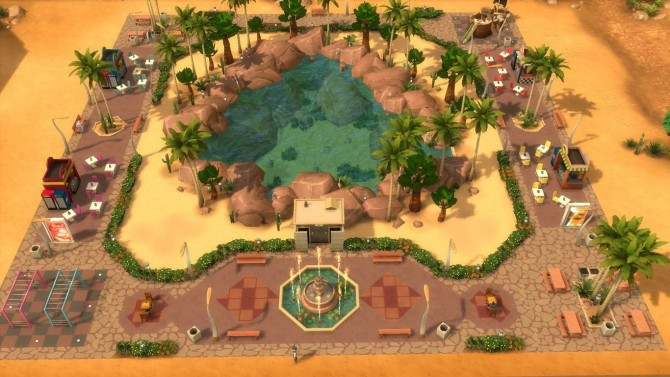 Park Agaves Lagoon by JessCriss at Mod The Sims image 3816 670x377 Sims 4 Updates
