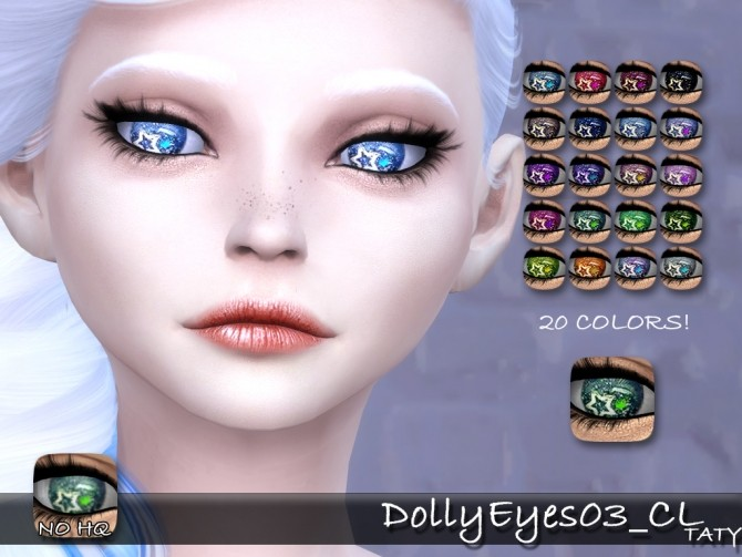 Dolly Eyes 03 CL by Taty86 at TSR image 383 670x503 Sims 4 Updates