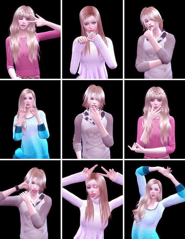 Sims 4 Dedicated tongue pose 02 at A luckyday