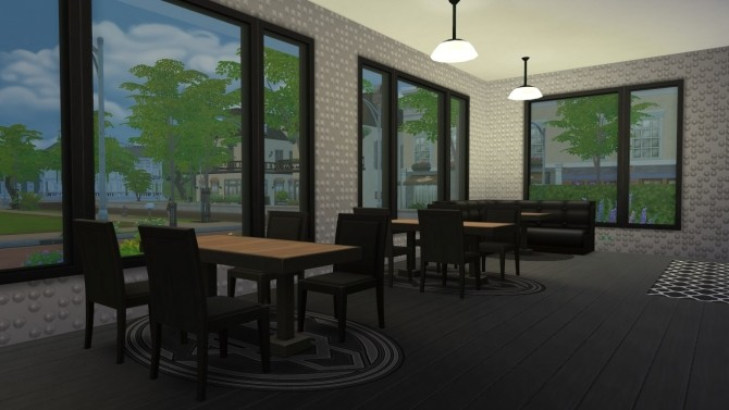 The Black Garden house by terrifreak at Mod The Sims image 396 670x377 Sims 4 Updates