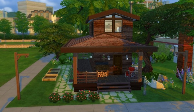 Tiny House 1 by patty3060 at Mod The Sims image 406 670x387 Sims 4 Updates