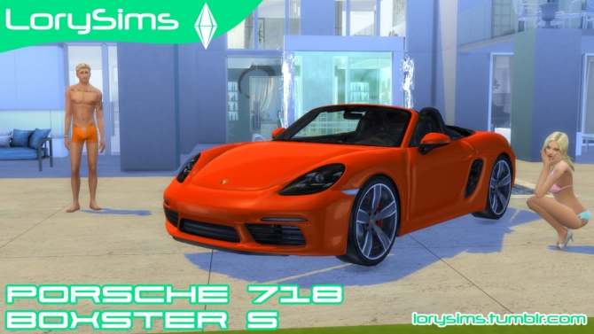 Porsche 718 Boxster S At Lorysims 187 Sims 4 Updates