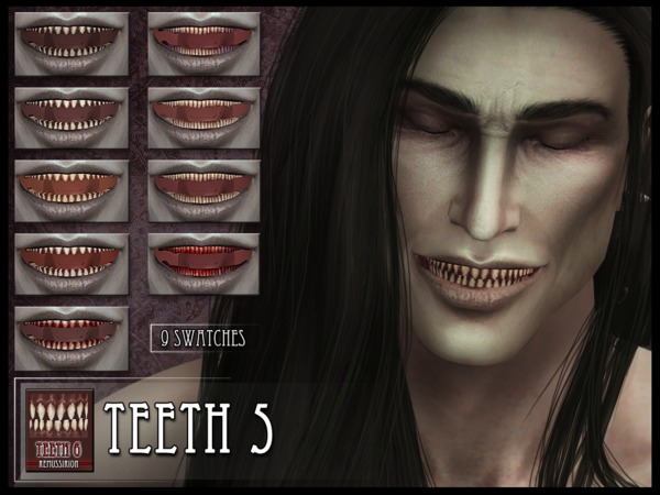 Monster Teeth 5 by RemusSirion at TSR image 4104 Sims 4 Updates