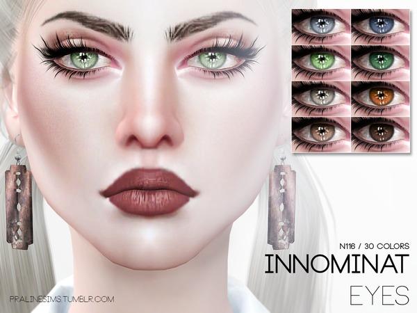 Sims 4 Innominat Eyes N116 by Pralinesims at TSR