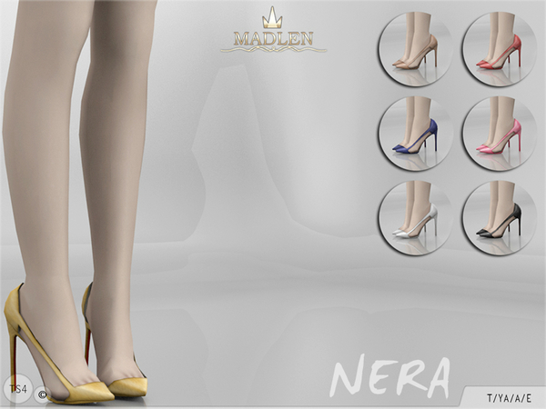 Madlen Nera Shoes by MJ95 at TSR image 414 Sims 4 Updates
