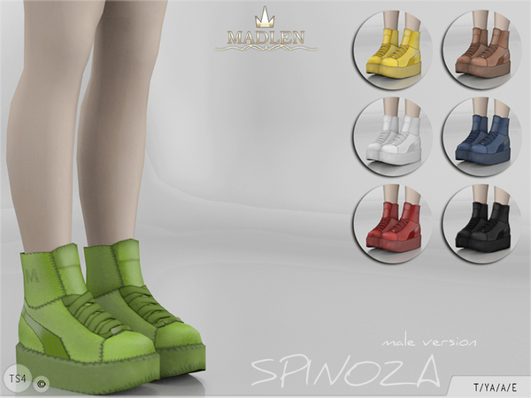 Madlen Spinoza Shoes (MALE) by MJ95 at TSR image 416 Sims 4 Updates