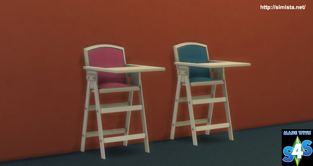 Highlander High Chair At Simista 187 Sims 4 Updates