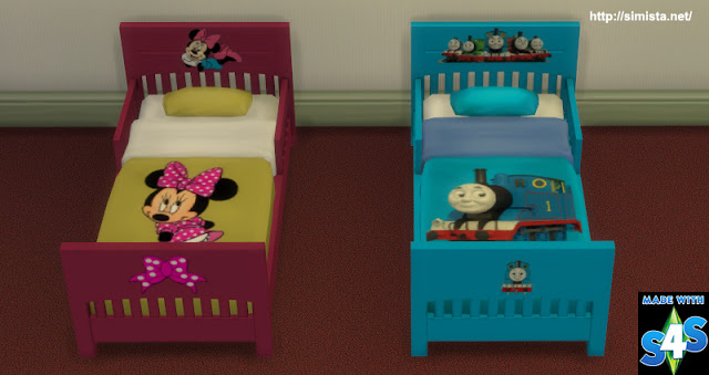 Toddling Toddler Bed At Simista Sims 4 Updates