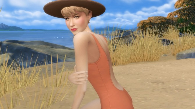 Sims 4 Debbie Reynolds by Snowhaze at Mod The Sims
