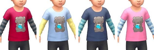 Layered T Shirts at Marvin Sims image 4231 Sims 4 Updates