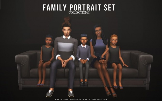 Family Portrait Collection: One at Onyx Sims image 425 670x420 Sims 4 Updates
