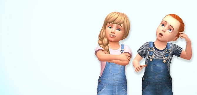 Denim Overalls at Marvin Sims image 4271 670x323 Sims 4 Updates