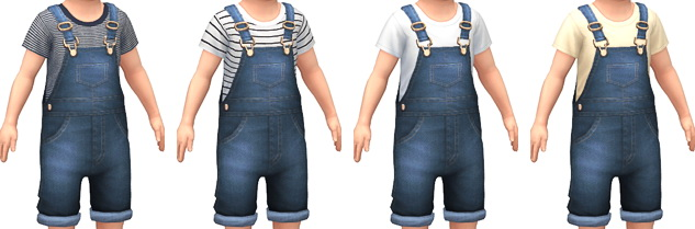 Denim Overalls at Marvin Sims image 4281 Sims 4 Updates