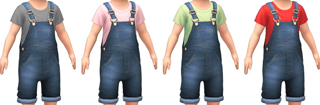 Denim Overalls at Marvin Sims image 4291 Sims 4 Updates