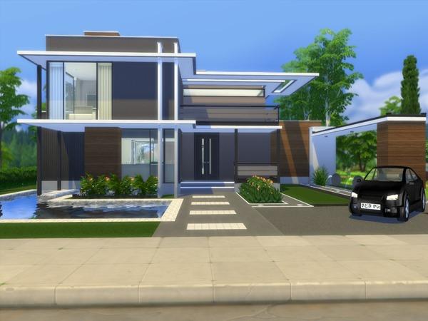 Modern Saniya house by Suzz86 at TSR image 43 Sims 4 Updates