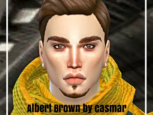 Albert Brown by casmar at TSR image 441 Sims 4 Updates