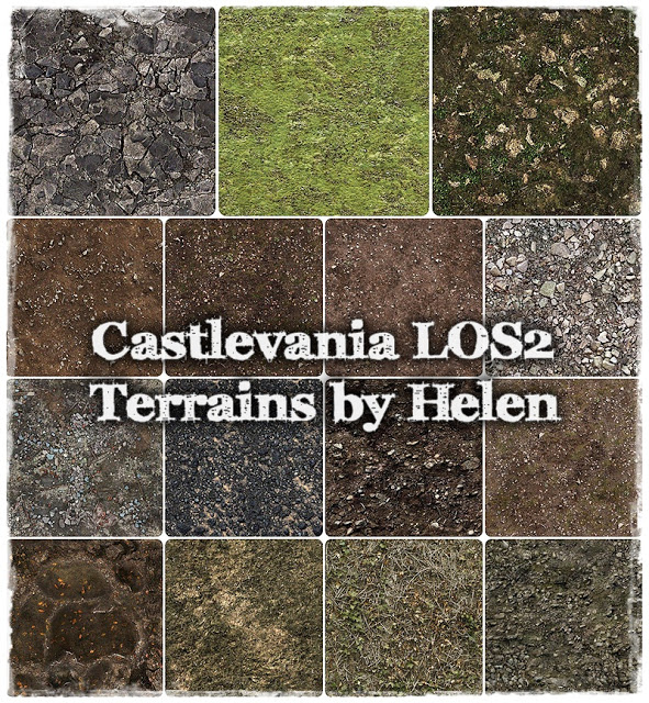 Castlevania LOS2 Terrains at Helen Sims image 443 Sims 4 Updates