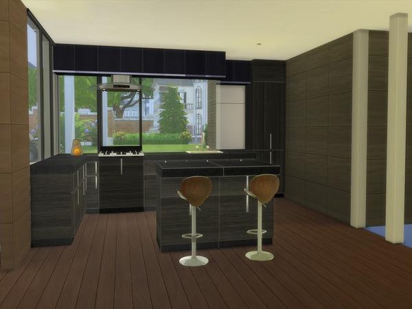 Modern Saniya house by Suzz86 at TSR image 45 Sims 4 Updates