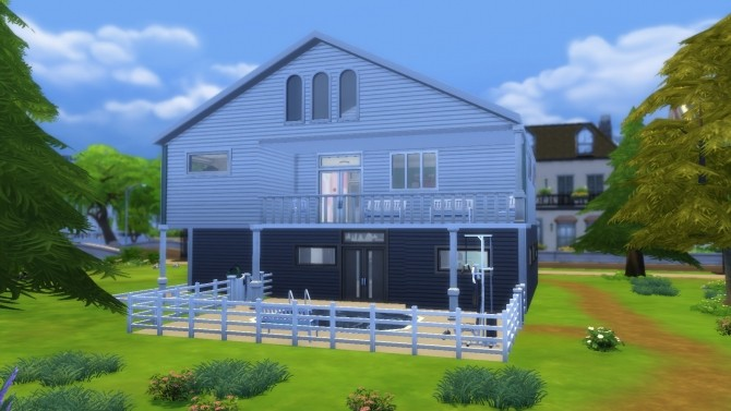 Sims 4 Lovely Drive house by PIGSbff at Mod The Sims