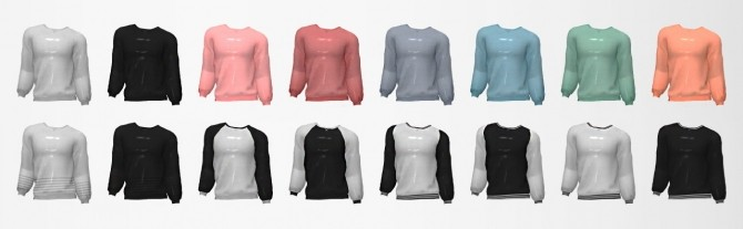 Heat Yourself Sweater Recolor at Moon image 4551 670x207 Sims 4 Updates