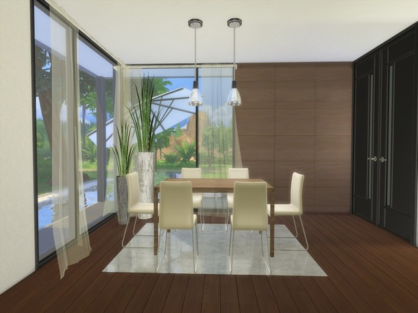 Modern Saniya house by Suzz86 at TSR image 46 Sims 4 Updates