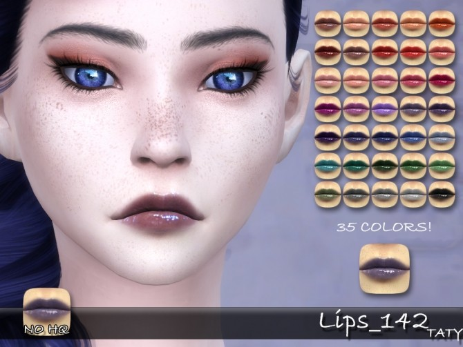 Sims 4 Lips 142 by Taty86 at SimsWorkshop