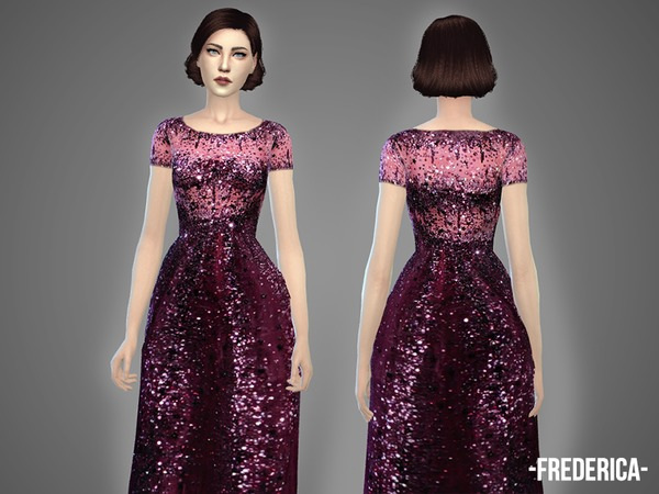 Oolong Dresses Collection by April at TSR image 4615 Sims 4 Updates