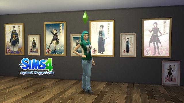 Sims 4 Touken Ranbu Online Posters at NG Sims3