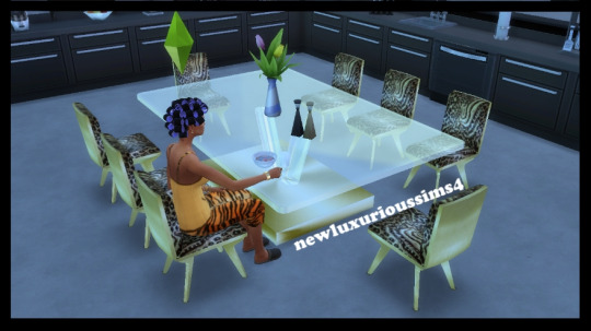 Large dining room table at NEW Luxurious Sims 4 image 481 Sims 4 Updates