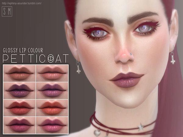 Sims 4 Glossy Lip Colour by Screaming Mustard at TSR