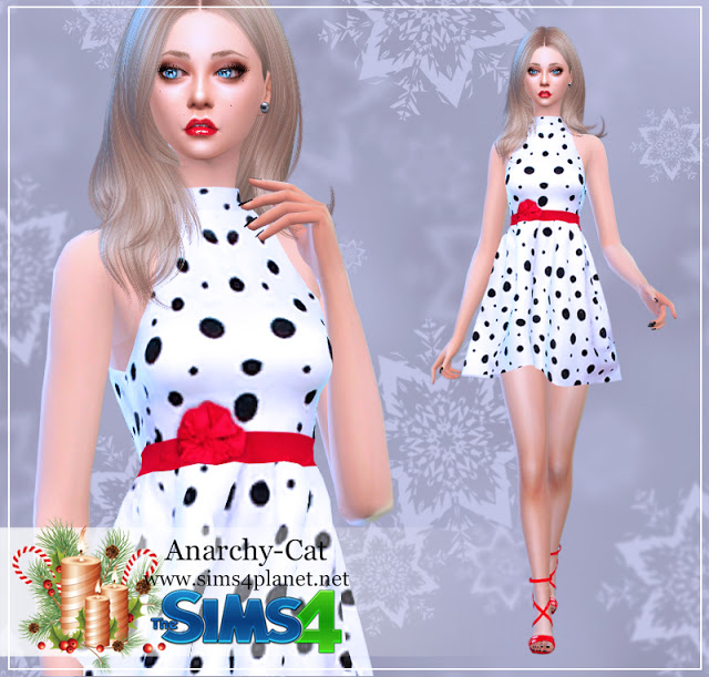 Dress #77 at Anarchy Cat image 511 Sims 4 Updates
