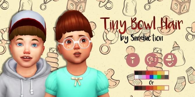 Tiny Bowl Hair at Simduction image 5191 670x333 Sims 4 Updates